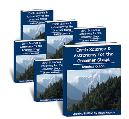 Earth Science & Astronomy for the Grammar Stage Co-op Package