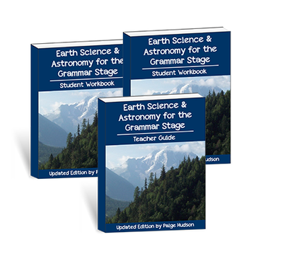 2nd Edition Earth Science & Astronomy for the Grammar Stage Printed Combo