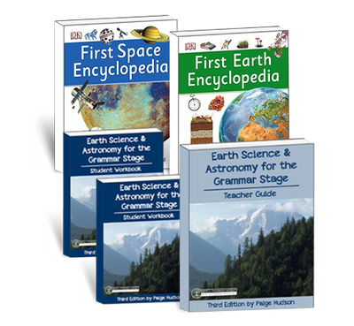 Earth Science & Astronomy for the Grammar Stage Book Package
