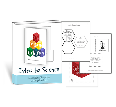 Intro to Science Lapbooking Templates