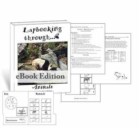 Get the templates and lessons you need to create a lapbook about animals for homeschool science.