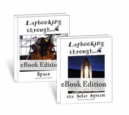Lapbooks - Lapbooking Through Astronomy (eBook Bundle)