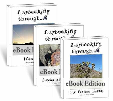 Lapbooks - Lapbooking Through Earth Science (eBook Bundle)