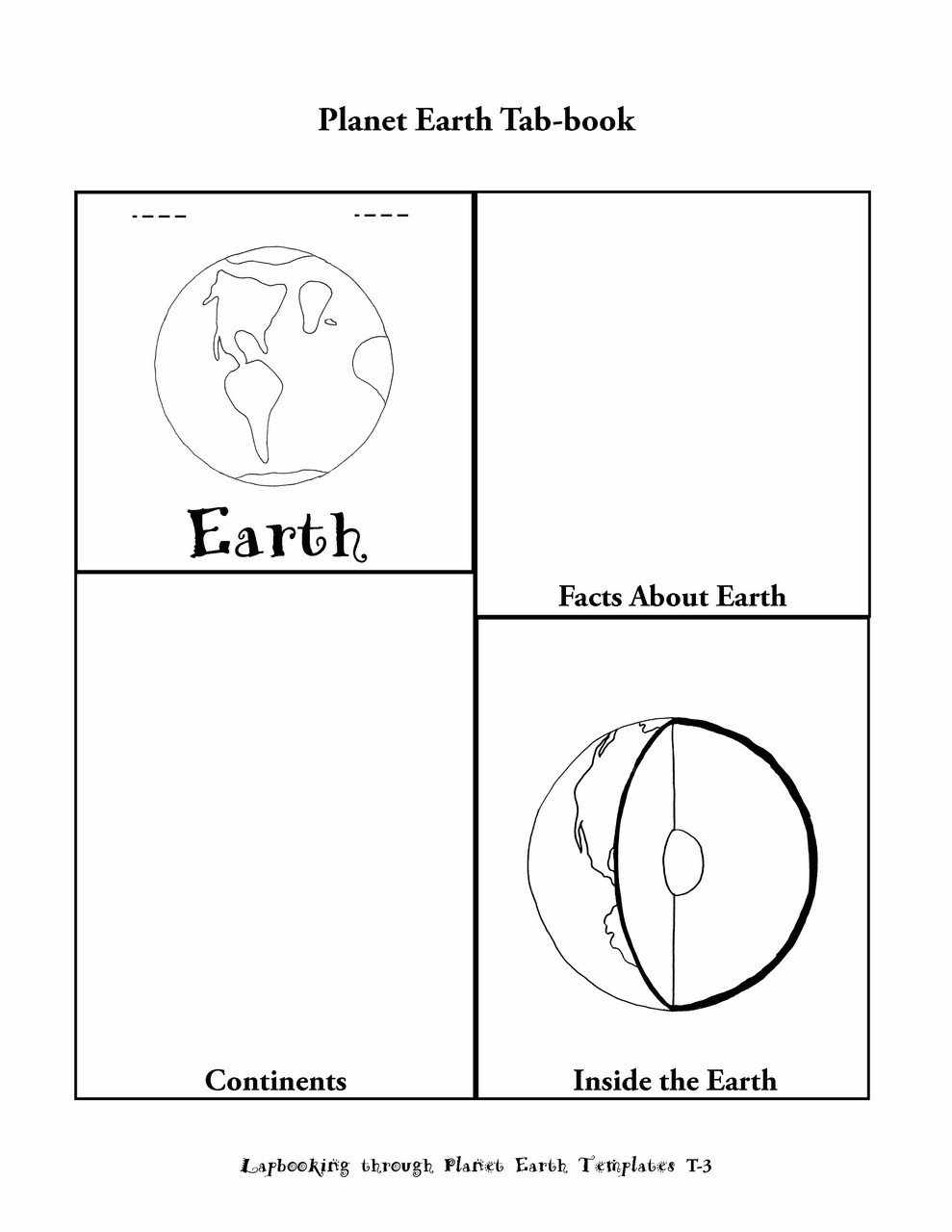 Lapbooking through planet earth a science lapbook science lapbook lapbooking through planet earth ebook fandeluxe Choice Image