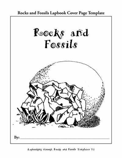 Science Lapbook - Lapbooking Through Rocks And Fossils (eBook)