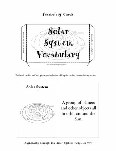 Lapbooks - Lapbooking Through Solar System (eBook)
