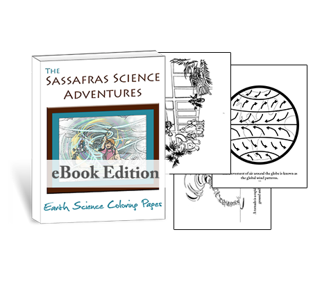 Living Books - Earth Science Coloring Pages