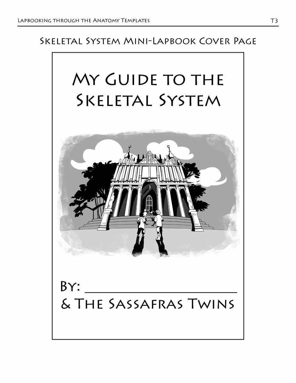 Lapbooking through Anatomy with the Sassafras Twins {eBook}
