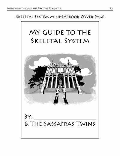 Living Books - Lapbooking Through Anatomy With The Sassafras Twins (eBook)