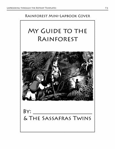 Living Books - Lapbooking Through Botany With The Sassafras Twins (eBook)
