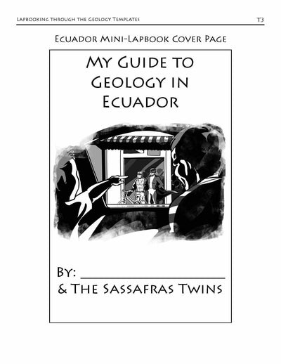 Living Books - Lapbooking Through Geology With The Sassafras Twins (eBook)