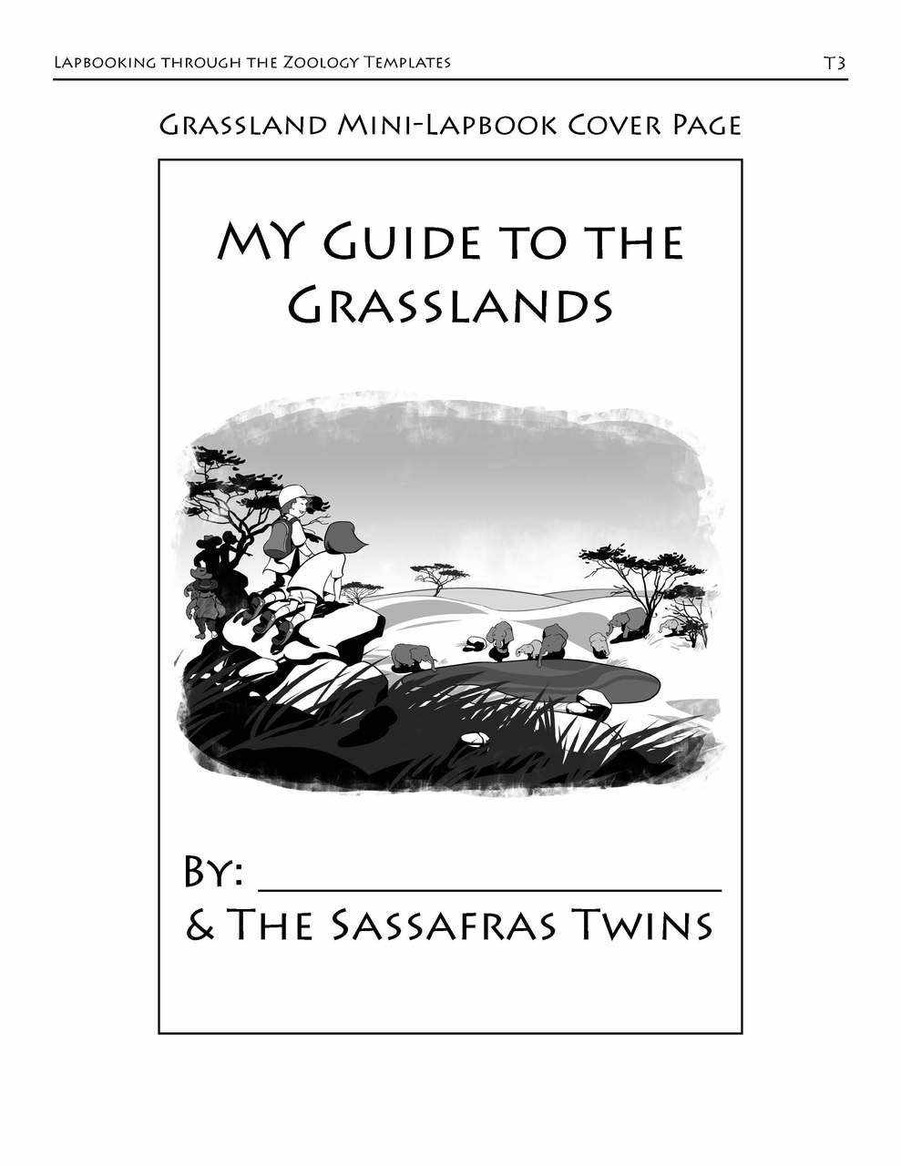 Lapbooking through Zoology with the Sassafras Twins (eBook)