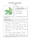 Living Books Curriculum - The Official Sassafras SCIDAT Logbook: Botany Edition