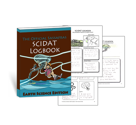 Living Books - The Official Sassafras SCIDAT Logbook: Earth Science Edition