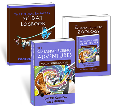The Sassafras Science Adventures Volume 1: Zoology Printed Combo