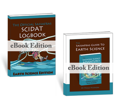 Living Books - The Sassafras Science Adventures Volume 4: Earth Science EBook Combo