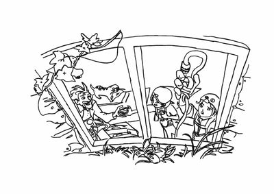 Living Books - Zoology Coloring Pages