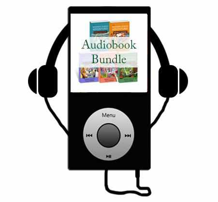 Our Products - All 5 Sassafras Science Audiobooks
