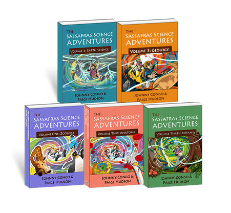 Our Products - All 5 Sassafras Science Novels
