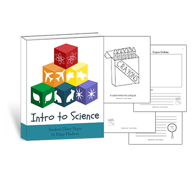 Preschool - Intro To Science Student Diary