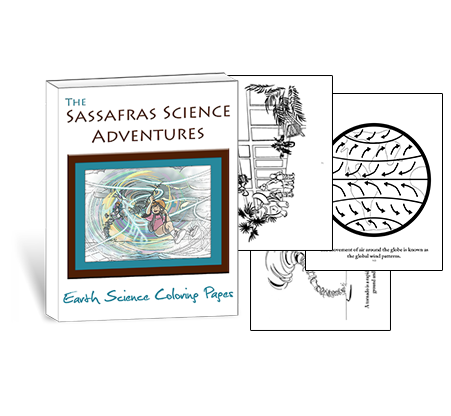 Sassafras Science Earth Science Coloring Pages