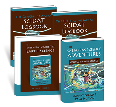 The Sassafras Science Adventures Volume 4: Earth Science Printed Combo
