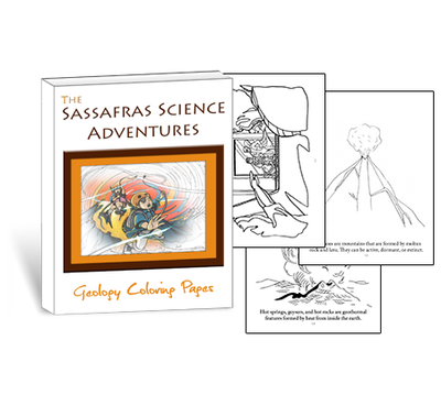 Color your way through learning about maps, rocks, and more with these geology coloring pages
