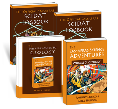 The Sassafras Science Adventures Volume 5: Geology Printed Combo