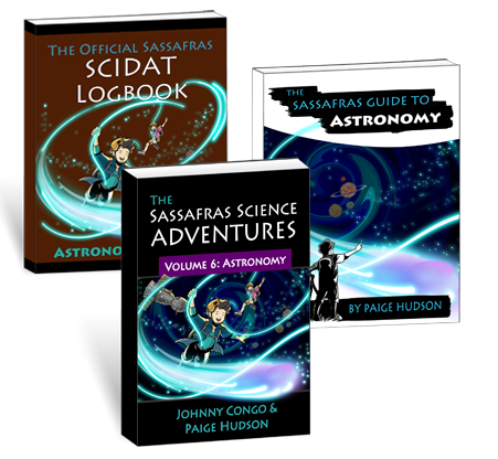 The Sassafras Science Adventures Volume 6: Astronomy Printed Combo