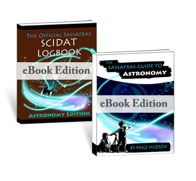 The Sassafras Science Adventures Volume 6: Astronomy (eBook Combo)