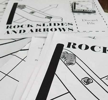 Theory - Geology Game - Rock Slides And Arrows {FREE EBook}