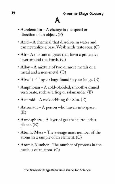 Theory - The Grammar Stage Reference Guide For Science