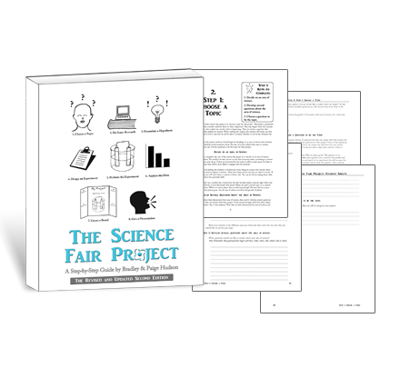 steps of a science fair project