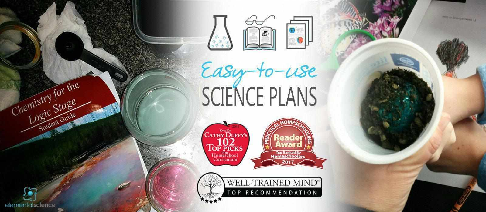 Award-winning Plans for Classical Science from Elemental Science