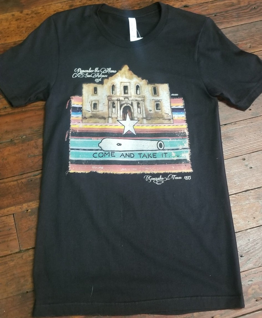 Come and Take It Alamo Tee - Black