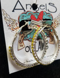 Fun Bling Hoops