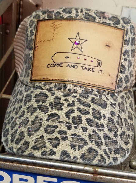 Leopard Come and Take It Cap
