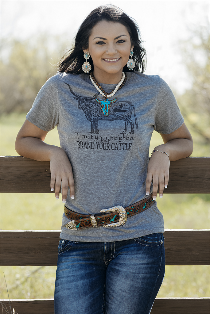 Brand Your Cattle Tee