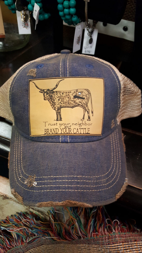 Brand Your Cattle Cap