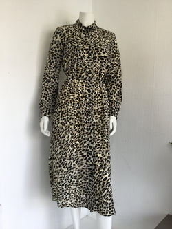 Cara Leopard Shirt Dress