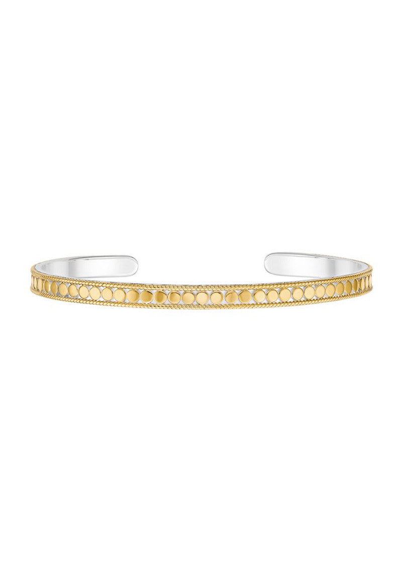 Dotted stacking cuff - Gold