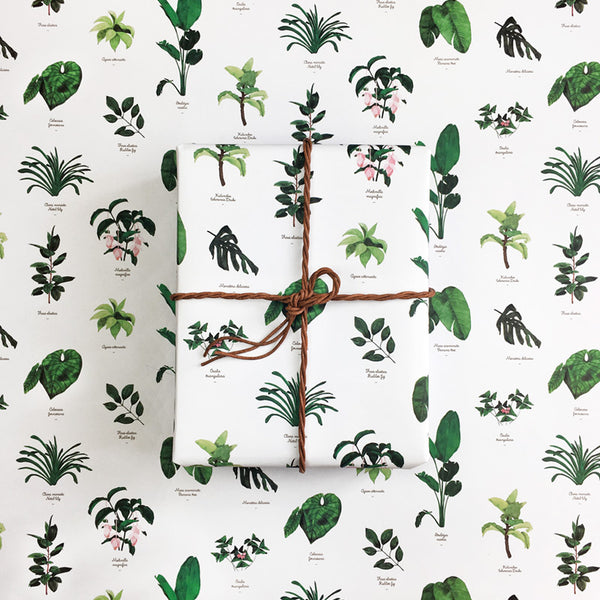 All the ways to say - Botanic Gift Wrap