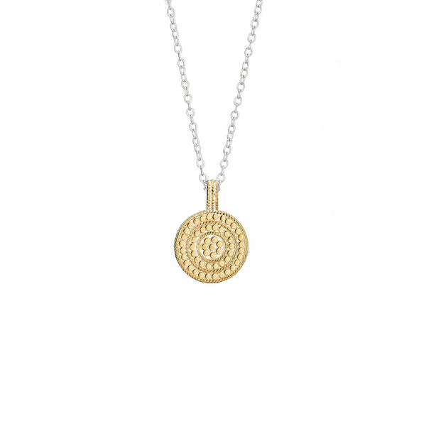 Circle of Life Divided Disc Charity necklace