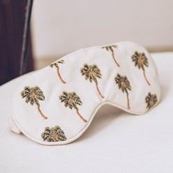 African Palmier Natural Eye Mask