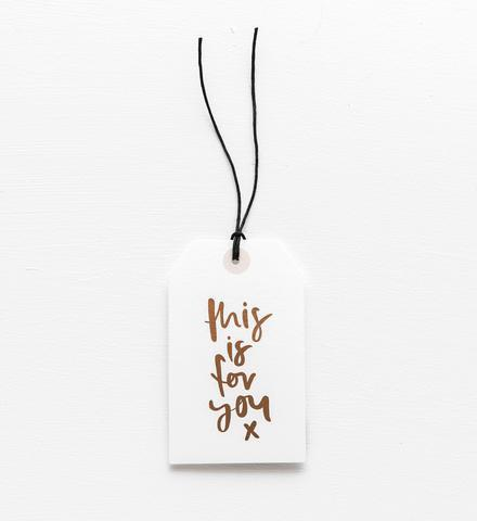 Emma Kate Co gift tag