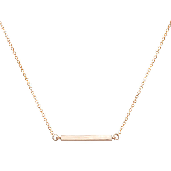 Bar Choker - Gold