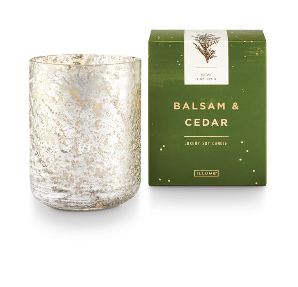 Balsam and cedar candle luxe small