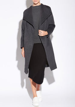 Smoke Wrap Coat