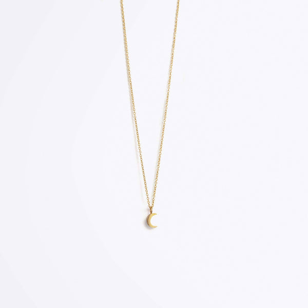Luna Gold Chain Necklace