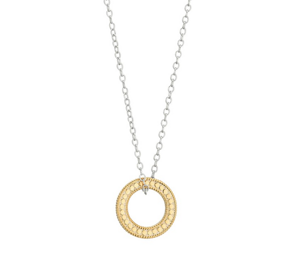 Circle of Life Open O necklace